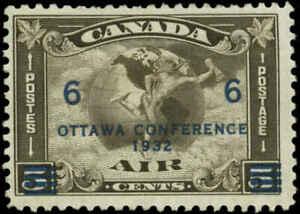 Canada Scott #C4 SG #318 Mint Hinged