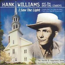 Hank Williams Sr-I Saw The Light  CD NEW
