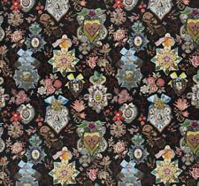 DESIGNERS GUILD/CHRISTIAN LACROIX COTTON FABRIC COCARDE REGLISSE FCL2493/03 1m