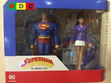 DC SUPERMAN ANIMATED SERIES SUPERMAN & LOIS LANE 2 PACK