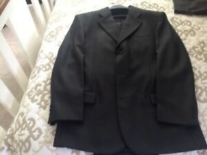 Men's Johnathan Baxter black suit size 30, worn once to a wedding, good conditi