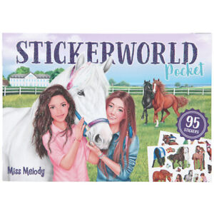 Miss Melody Horse Pocket Stickerworld Book with 120 Stickers & 12 Pages Depesche