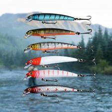 50x 10 Größe sortiert Meeresfischen geschärft Haken Angelgerät Köder KöderPDH