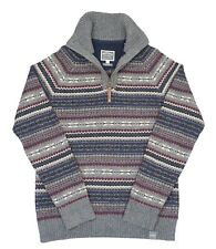Fat Face FairIsle Knitted Jumper, Size S, Excellent Condition