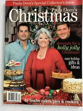 Paula Deen's 2006 Christmas Special Collector Issue 40 Festive Cakes, Pies More!