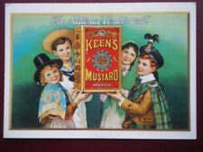 POSTCARD  KEENS MUSTARD - THE NATIONAL CONDIMENT