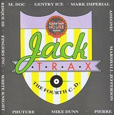 Jack Trax The Fourth CD twelve inch House mixes ( Vol. 4 ) 12 Track 1988