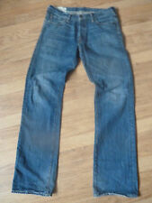 mens ABERCROMBIE & FITCH distressed jeans - size 32/34 good condition