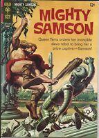 Mighty Samson #9 Gold Key Comic 1967 FN-