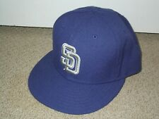 SAN DIEGO PADRES Vintage ON-FIELD Cap Hat 7 1/2 NEW ERA 59FIFTY 7.5 blue brown