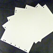 Coingallery Insignia Album Coin Page Blank White Dividers Pack of 10