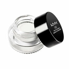 NYX Gel Liner & Smudger Waterproof GLAS07 Emma White / Blanc 0.09 oz New In Box