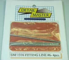 """Detail Master 13161/24-1/25 Fitting Line #6 .080"""" (4pc)"""
