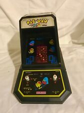 1981 COLECO PAC-MAN TABLETOP ARCADE GAME with the BOX WORKING