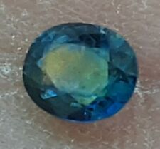 Brilliant Natural 0.45ct Blue Oval Cut Montana Mined Sapphire U.S. Seller