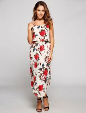 """DAKOTA"" GORGEOUS LADIES SIZE 14 SUMMER FLORAL FLOWING SPAGHETTI STRAP DRESS"