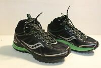 Saucony Progrid Outlaw 10130 Green/Black Run Anywhere Womens SZ 8.5