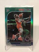 2019-20 Panini NBA Hoops Premium Stock Luguentz Dort Green Prizm Rookie RC