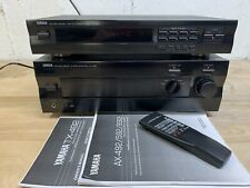 Yamaha AX-592 Stereo Integrated Amplifier& Remote TX-492 Tuner Preamp-Outs
