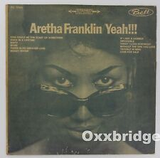 ARETHA FRANKLIN Yeah KOREA 1st Press Soul 360 Sound RARE IMPORT Bell Soul R&B LP
