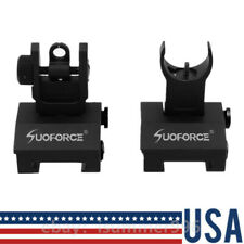 Low Profile Flip-up Metal Qd Rapid Transtion Sight Iron Sights Front & Rear Set