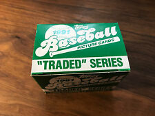 "1991 Topps Baseball Picture Cards ""Traded"" Series (Numbers 1-T through 132-T)"