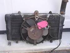 1987 Honda CBR1000F radiator and fan assembly