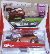 Disney World of CARS ~ CORA COPPER ~ RSN Racing Sports Network 6/8 DieCast 2014