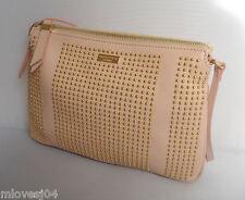 Emilio Pucci Nude Leather Gold Studded Bag Shoulder Handbag Brand New BNWT