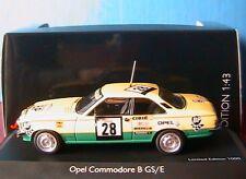 OPEL COMMODORE B GS-E #28 BP TOUR DE CORSE 1974 SCHUCO 02772 1/43 MICHELIN CIBIE