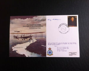 RAF B13 Flown & Signed FDC - Vickers Virginia - Flt Lt G. R. Gibbons (AFTAL)