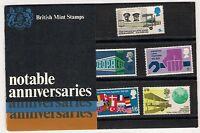 GB 1969 Notable Anniversaries Presentation Pack 9