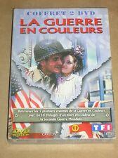 COFFRET 2 DVD / LA GUERRE EN COULEURS / 6 HEURES 30 / TRES BON ETAT