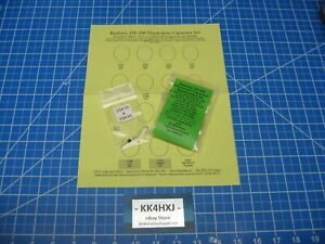 Realistic DX-200 Capacitor Repair/rE-Cap Kit - Multiple Options available