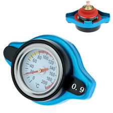0.9BAR Thermost Radiator Cap Cover+ Water Temp Gauge Small Head Car Accessories