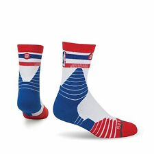 Stance Socks Fusion NBA Basketball On Court 359 Red White Blue Men's Large USA