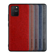 For Samsung Galaxy Note 10 Lite Plus 9 Luxury Leather Ultra Thin Back Case Cover