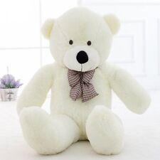 120cm/47''Giant Big Huge Toys doll White Teddy Bear Plush Stuffed Soft kids Gift