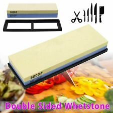 Knife sharpener Stone double sided Wet sharpening Waterstone grit anti Whetstone