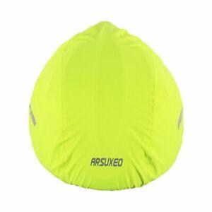 Waterproof Cycling Helmet Cover Rainproof Ultra Light Reflective Head Protection