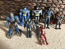 Batman Iron Man Thor Darkseid Marvel Dc Action Figure Bundle