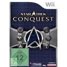 Nintendo Wii gioco Star Trek: Conquest Rarità Nuovo