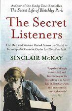 The Secret Listeners, Sinclair McKay, Bletchley Park, WW2, Y Service, Postings