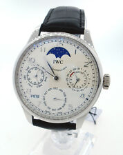 IWC Portuguese Perpetual Calendar Moonphase Platinum IW503203 Watch 5032-03