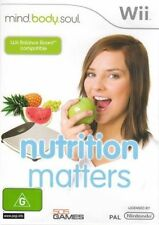 Mind Body and Soul Nutrition Matters - Nintendo Wii