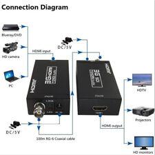 HDMI To SDI Video Converter BNC SDI/HD-SDI/3G-SDI Adapter 1080P Camera Theater~
