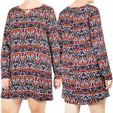 Womens Dresses Ladies Big And Tall Midi Top Sizes Casual Long Sleeves Size 16-22