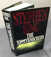 Stephen King Tommyknockers First Edition (RED VARIANT) $27.95 VIKING HCDJ