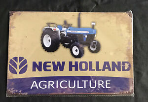New Holland Tin Sign