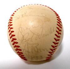 Bill Madlock Darrell Evans Jack Clark Signed Autographed 1977 SF Giants Baseball